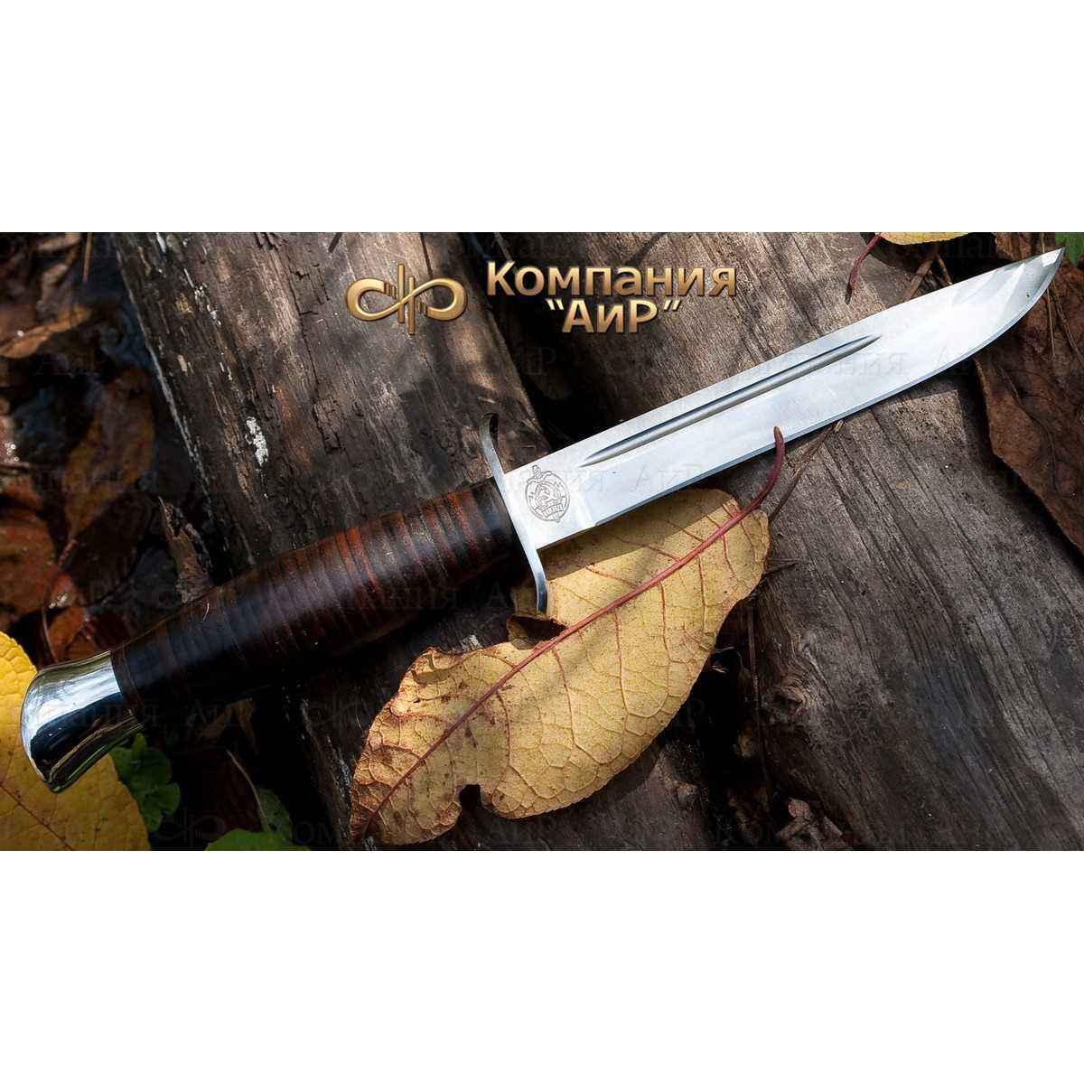 Нож АиР Финка-2, сталь RWL34, рукоять кожа