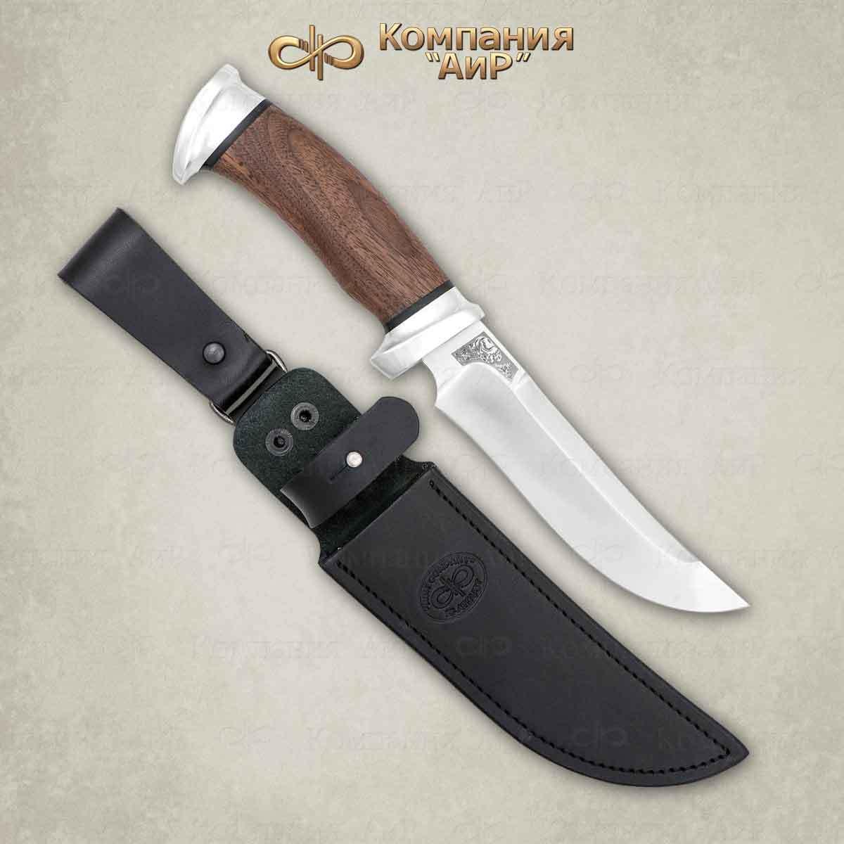 Нож разделочный АиР Росомаха, сталь 110х18 М-ШД, рукоять дерево