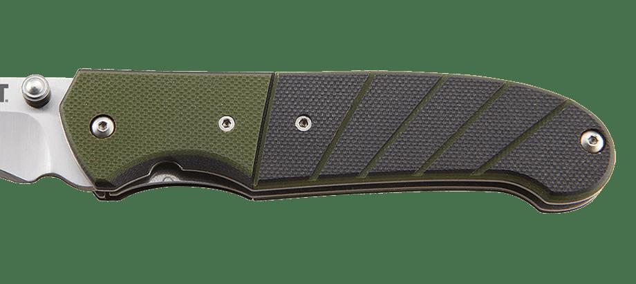 Фото 8 - Полуавтоматический складной нож Ignitor Veff Serrations™, CRKT 6855, сталь 8Cr14MoV Satin Combo Edge, рукоять стеклотекстолит G10