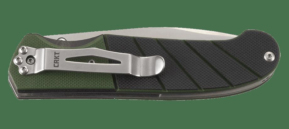 Фото 10 - Полуавтоматический складной нож Ignitor Veff Serrations™, CRKT 6855, сталь 8Cr14MoV Satin Combo Edge, рукоять стеклотекстолит G10