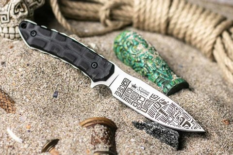Тактический нож Aztec D2 SW, Kizlyar Supreme. Вид 5