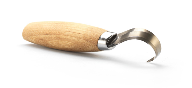 Фото - Нож Morakniv Hook Knife 163 Double Edge ложкорез двусторонний,  13445
