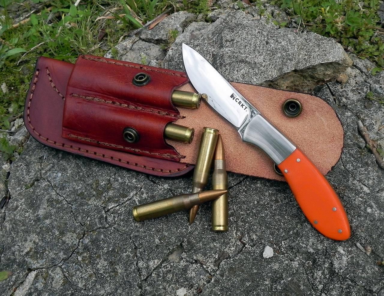 Фото 9 - Нож с фиксированным клинком CRKT Russ Kommer 2-Shot, сталь Sandvik 12С27, рукоять G-10