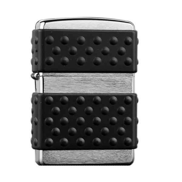 Зажигалка ZIPPO Brushed Chrome, латунь с никель-хром покрыт., серебр., матов., 36х56х12мм