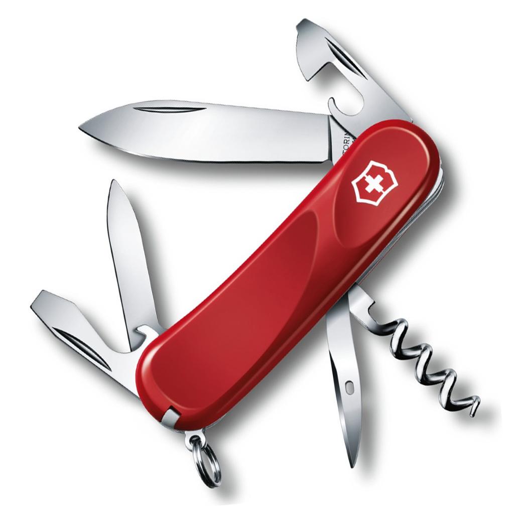 Нож перочинный Victorinox Evolution 10, сталь X50CrMoV15, рукоять нейлон, красный европа нож перочинный victorinox evolution s14 2 3903 se
