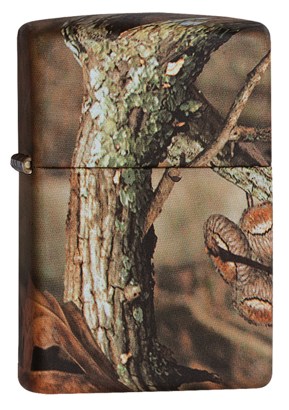 Зажигалка ZIPPO MOSSY OAK® BREAK-UP INFINITY oak leaf белый