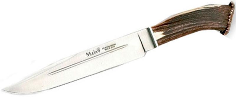 Фото 7 - Нож с фиксированным клинком Sarrio, Stag Handle 23.0 см.-2 от Muela