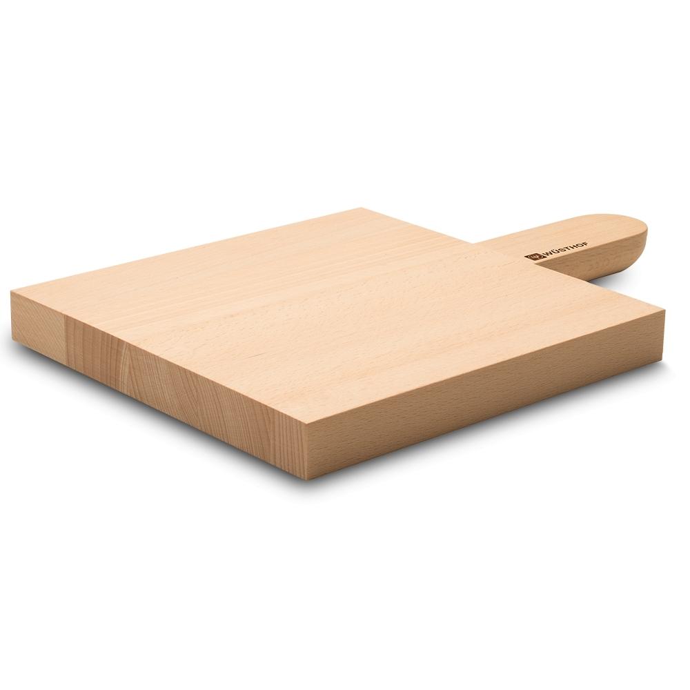 Доска разделочная 7291-1, 21х21х2.5 см, бук