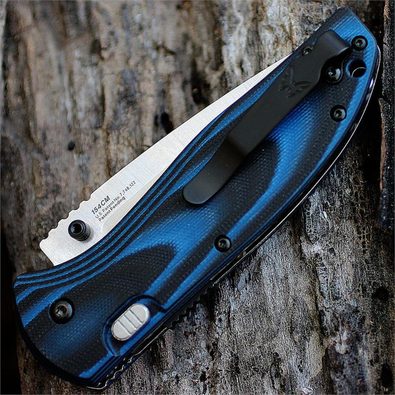 Фото 8 - Полуавтоматический нож Benchmade APB Assisted 665, сталь 154CM, рукоять G10