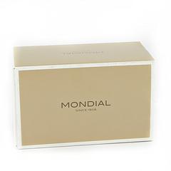 Набор для бритья Mondial M-1180 (станок, помазок, подставка), черный, фото 2