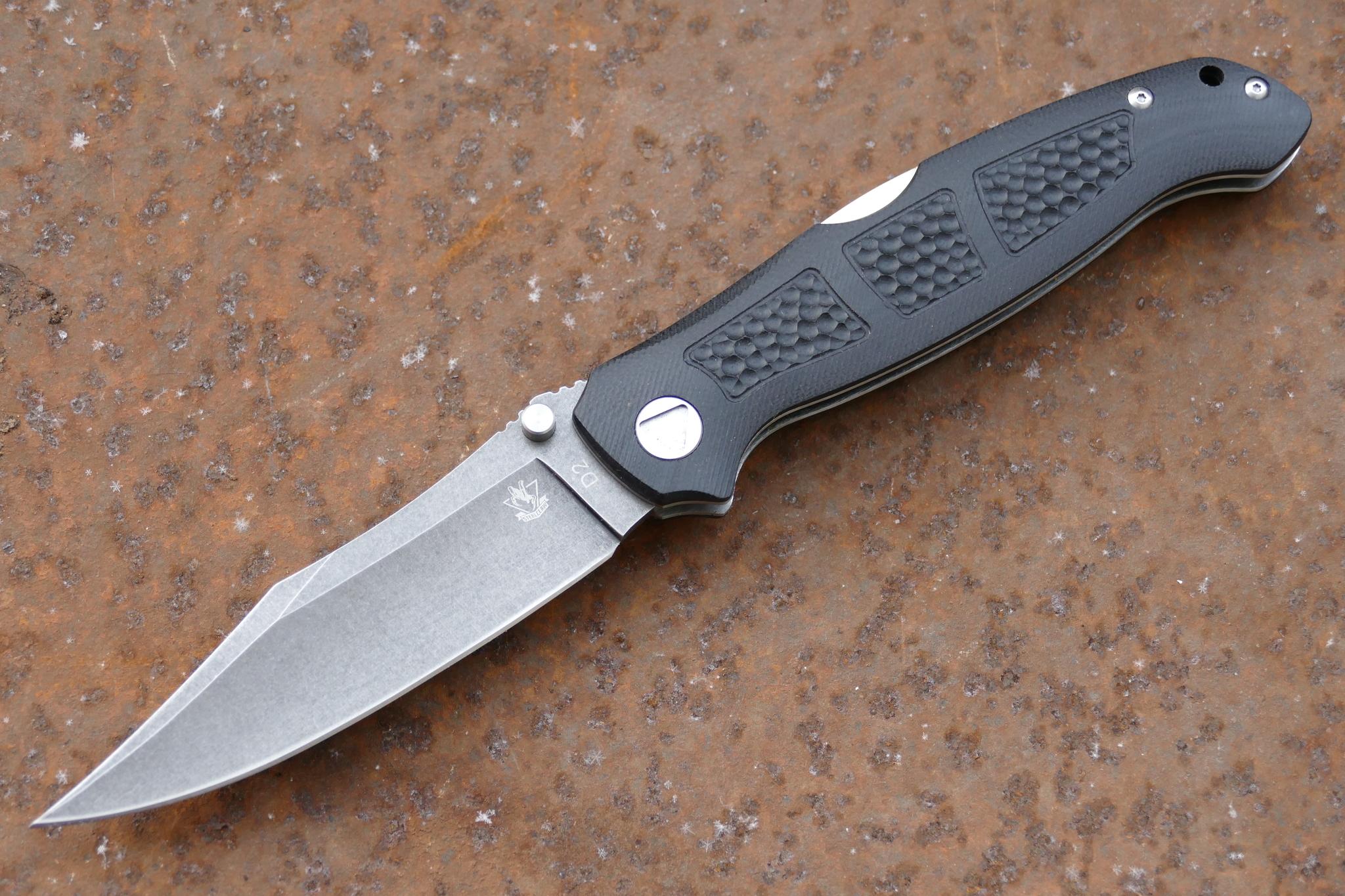 Фото 19 - Складной нож Брат 4, D2 от Steelclaw