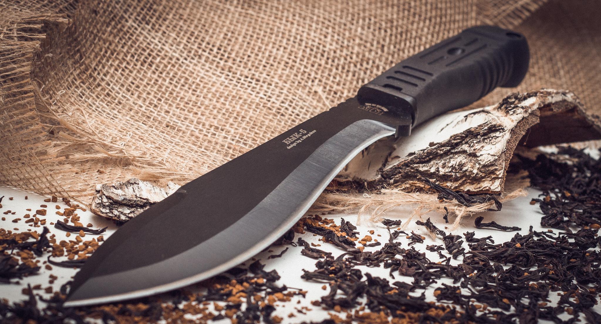 Фото 5 - Нож мачете Бык-5у от НОКС