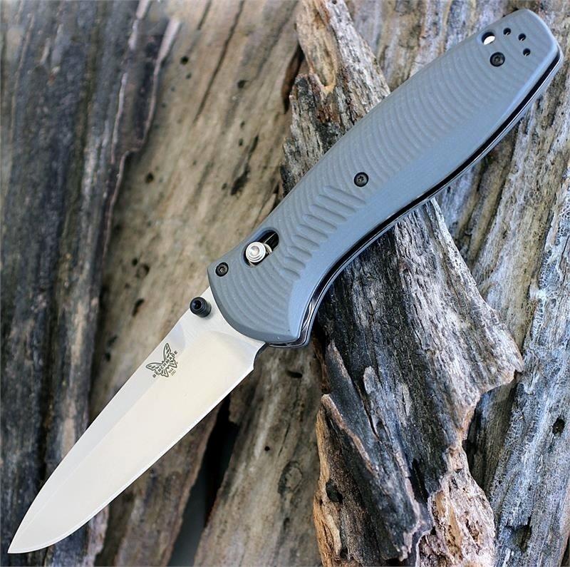 Фото 14 - Полуавтоматический нож Barrage 580-2, сталь CPM-S30V, рукоять G-10 от Benchmade