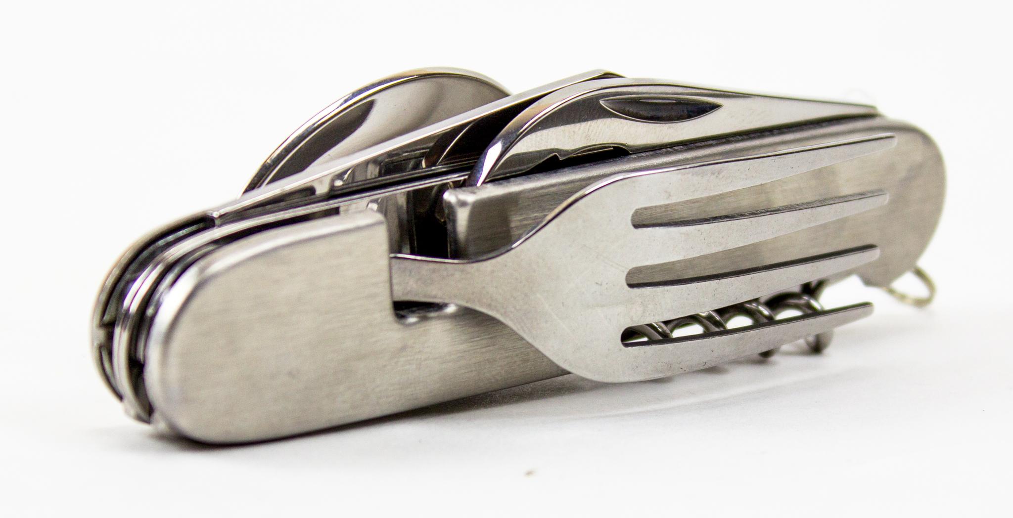 Походный нож 6-в-1, стальной питер мейл французские уроки путешествие с ножом вилкой и штопором