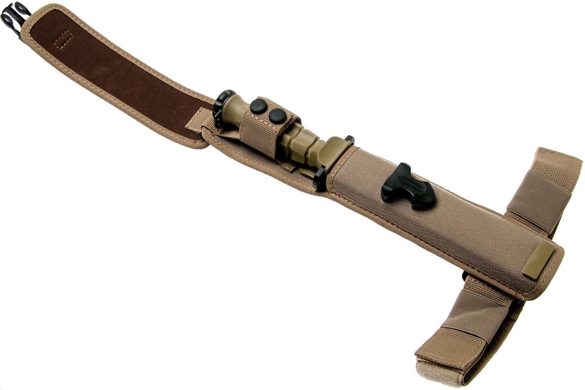 Фото 7 - Нож с фиксированным клинком Extrema Ratio MK2.1 Desert Warfare - Laser Engraving, сталь Bhler N690, рукоять пластик