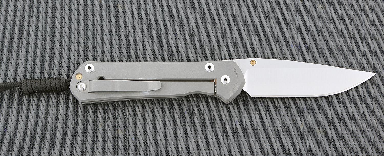 Фото 13 - Нож складной Chris Reeve Large Sebenza 21 L21CGGUN See, сталь CPM S35VN, рукоять титан