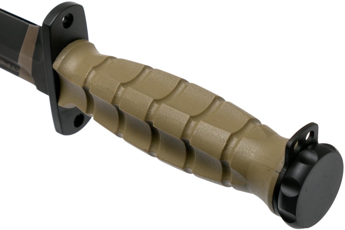 Фото 9 - Нож с фиксированным клинком Extrema Ratio MK2.1 Desert Warfare - Laser Engraving, сталь Bhler N690, рукоять пластик