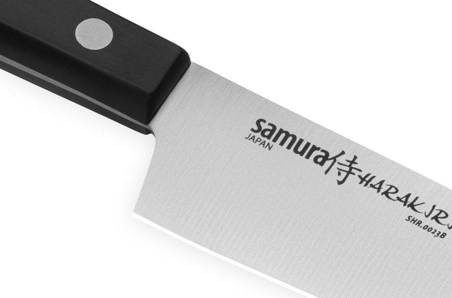 Фото 10 - Набор из 3 кухонных ножей Samura Harakiri -