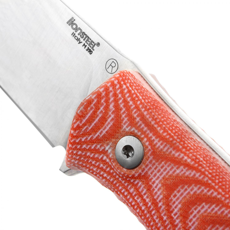 Фото 4 - Нож Lionsteel M4, сталь Bhler M390, рукоять микарта от Lion Steel
