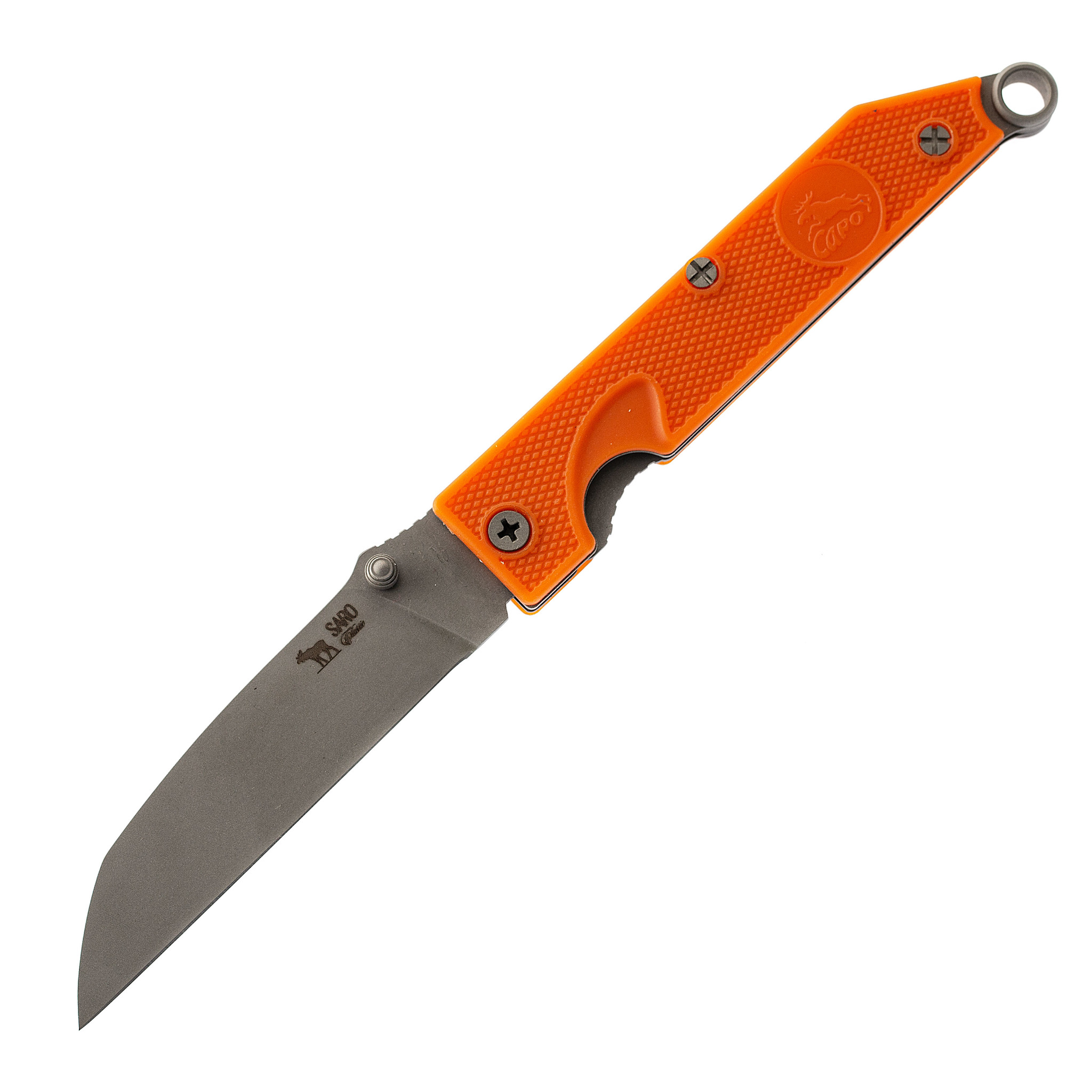 Складной нож Грибник, сталь AUS6, ABS-пластик от САРО