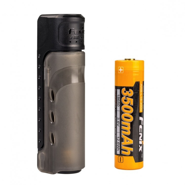 Набор зарядное устройство+аккумулятор на 18650 Fenix 3500U mAh Fenix ARE-X11 NEW стоимость