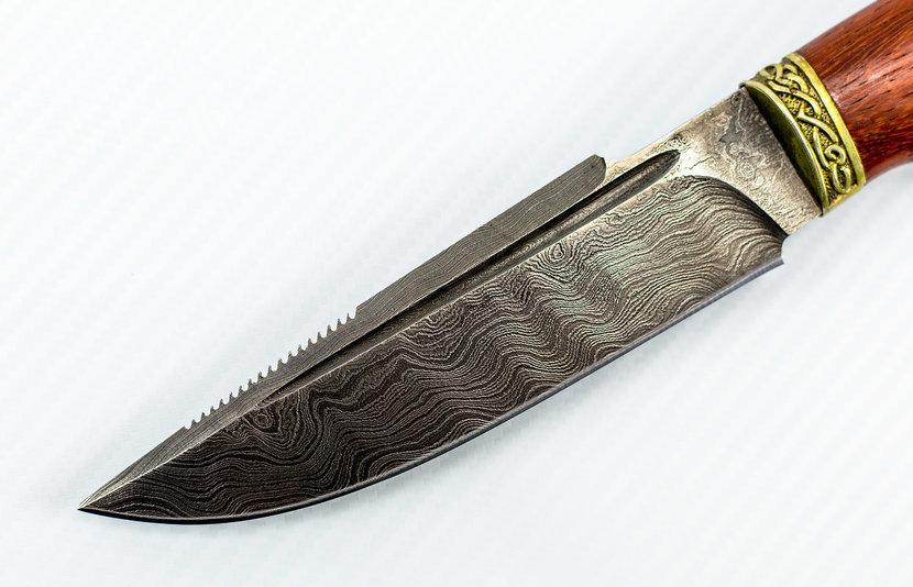 Фото 14 - Авторский Нож из Дамаска №8, Кизляр от Noname