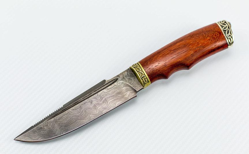 Фото 13 - Авторский Нож из Дамаска №8, Кизляр от Noname