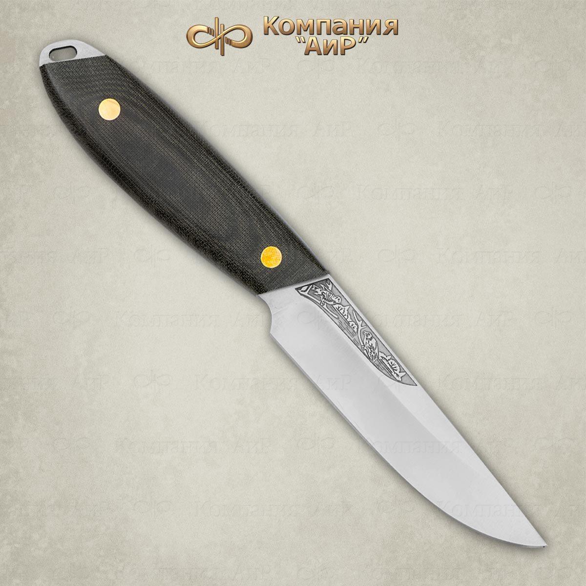 Нож разделочный АиР Жулан, сталь 95х18, рукоять текстолит