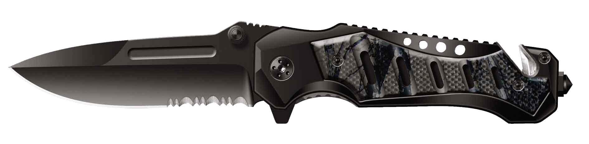 Нож складной Stinger SA-582GY, сталь 420, алюминий