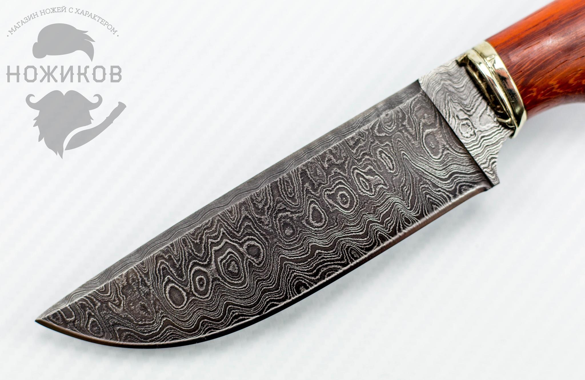 Фото 8 - Авторский Нож из Дамаска №73, Кизляр от Noname
