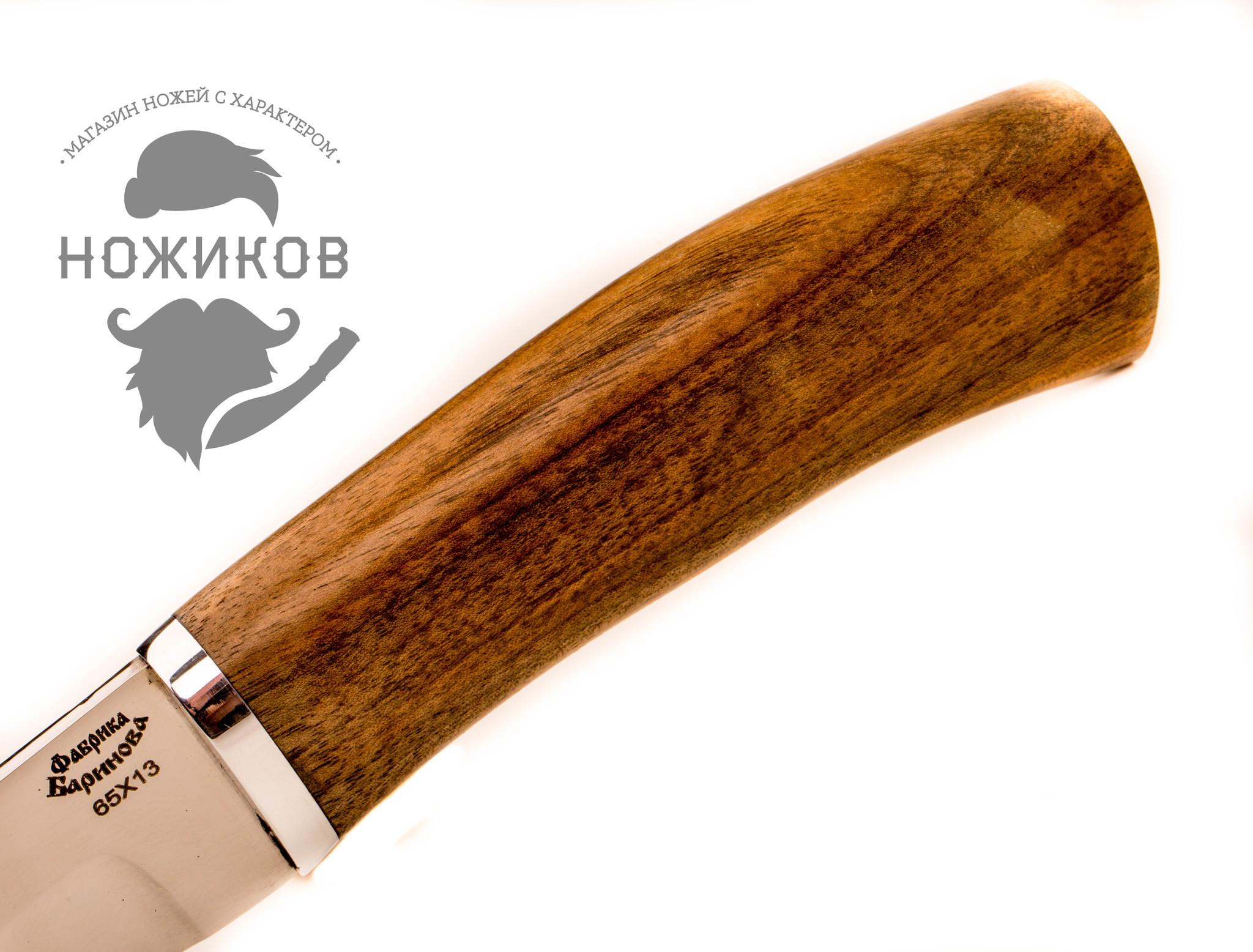 Фото 7 - Нож Мархур, орех от Фабрика Баринова