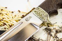 Нож Цезарь, кованая сталь Х12МФ