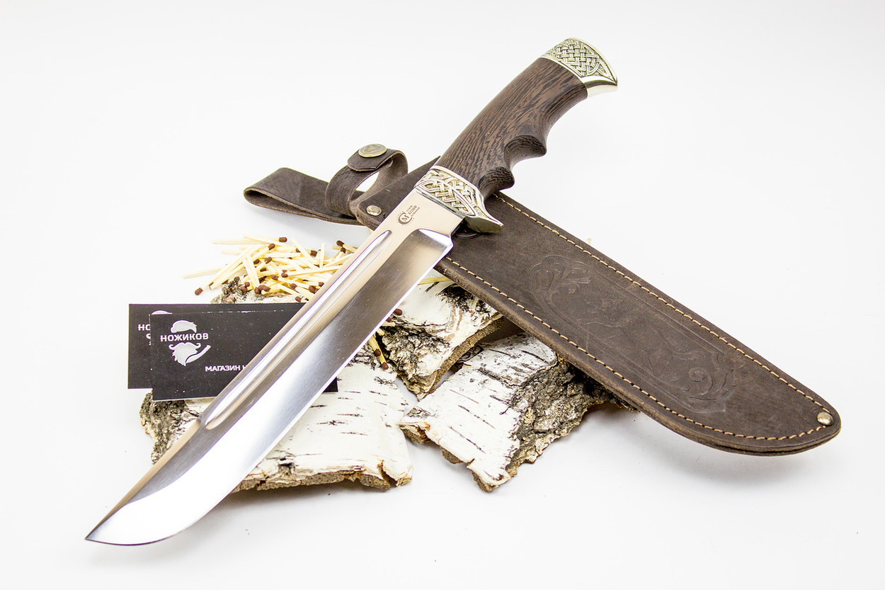 Фото 10 - Нож Цезарь, кованая сталь Х12МФ от Кузница Семина