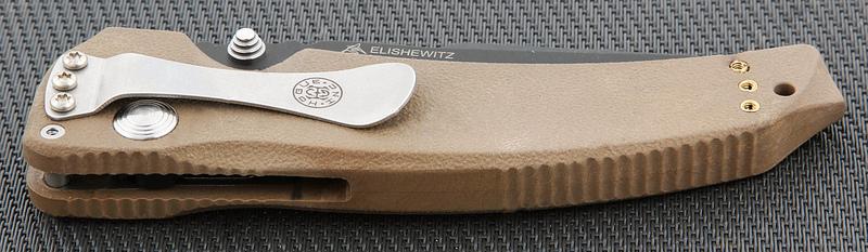 Фото 6 - Нож складной EX-03 Black Tanto Blade, Matte Brown Handle 8.89 см. от Hogue