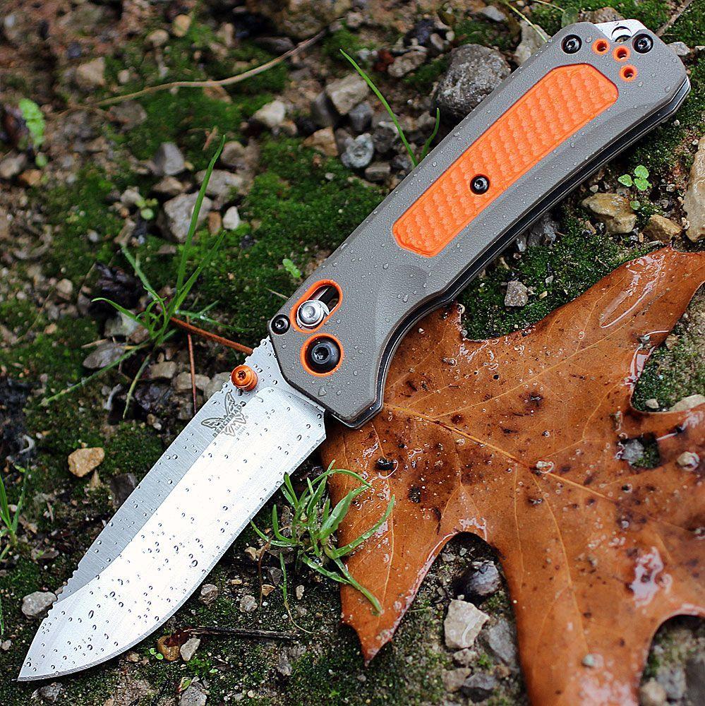 Нож складной Benchmade Grizzly Ridge™ 15061, сталь CPM-S30V, рукоять пластик/версафлекс нож benchmade 482 megumi