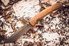 Складной нож Кочевник, сталь 95х18, орех - Nozhikov.ru