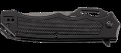 Складной нож CRKT 7050 Septimo, сталь 8Cr13MoV Black Oxide Finish Combo Edge, рукоять алюминий/резиновые вставки, фото 11