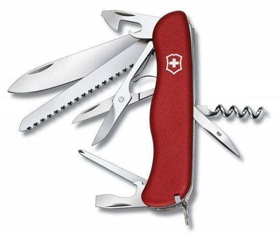 Мультитул Victorinox Outrider, сталь X50CrMoV15, рукоять нейлон, красный