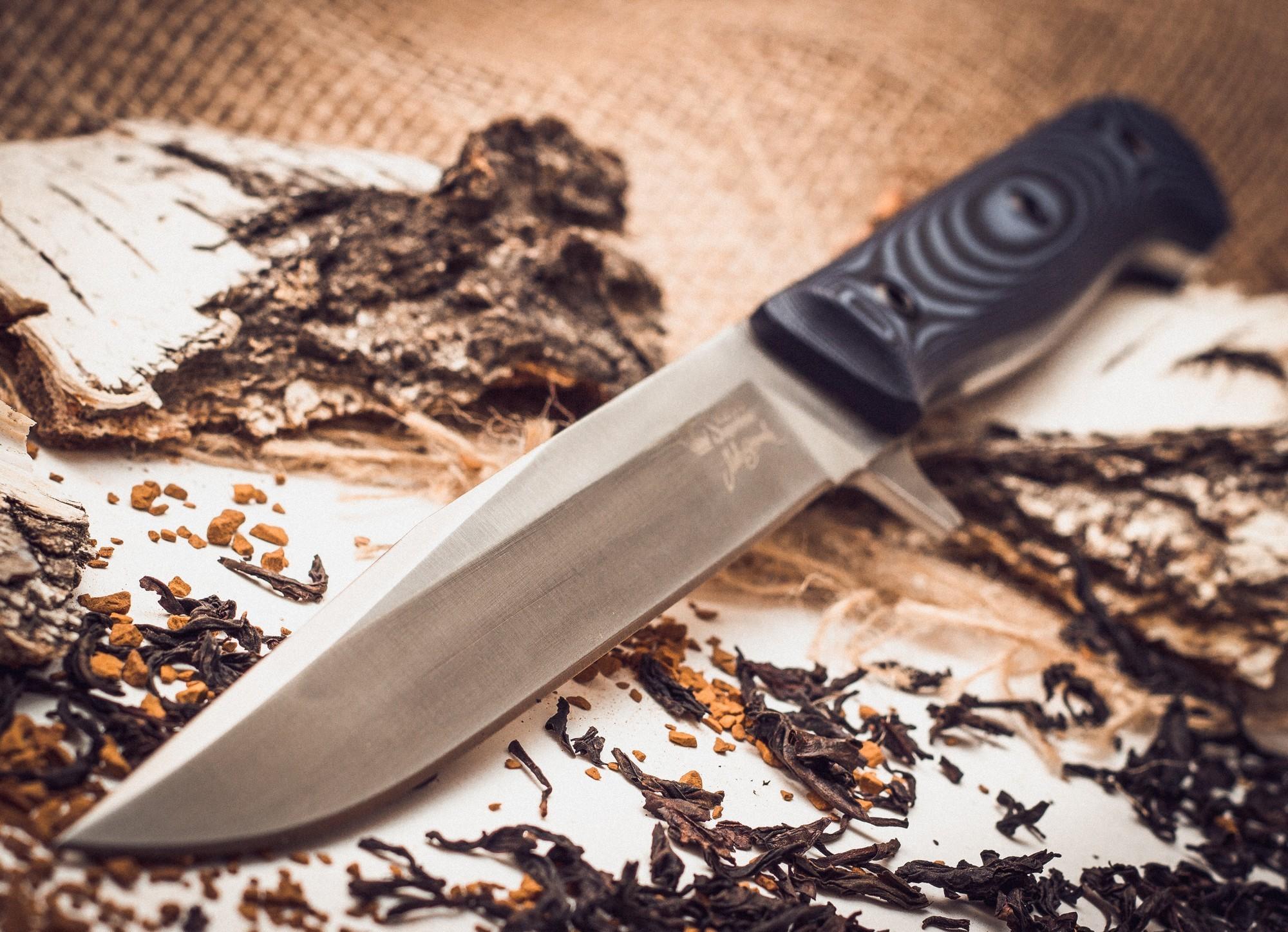 Фото 6 - Тактический нож Intruder D2 SW, Кизляр от Kizlyar Supreme