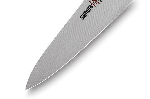 Нож кухонный Samura PRO-S универсальный - SP-0021, сталь AUS-8, рукоять G10, 115 мм