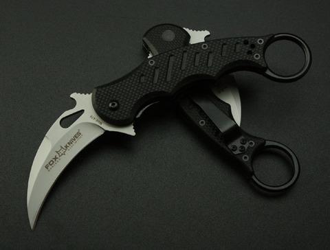 Керамбит Fox Knives Maniago, черный