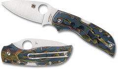 Складной нож CHAPARRAL RAFFIR NOBLE - Spyderco C152RNP, сталь CTS-XHP Satin Plain, рукоять Raffir™ NOBLE, фото 2