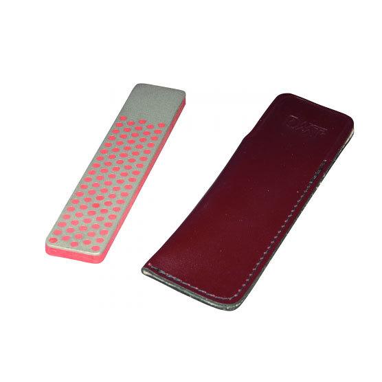 Фото 8 - Алмазный брусок DMT, 2 зоны заточки, 600 меш, 25 мкм, в кожаном чехле от DMT® Diamond Machining Technology