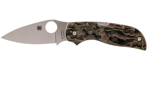 Складной нож CHAPARRAL RAFFIR NOBLE - Spyderco C152RNP, сталь CTS-XHP Satin Plain, рукоять Raffir™ NOBLE. Вид 7