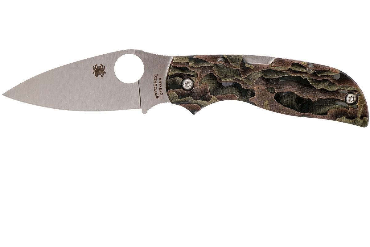 Фото 9 - Складной нож CHAPARRAL RAFFIR NOBLE - Spyderco C152RNP, сталь CTS-XHP Satin Plain, рукоять Raffir™ NOBLE