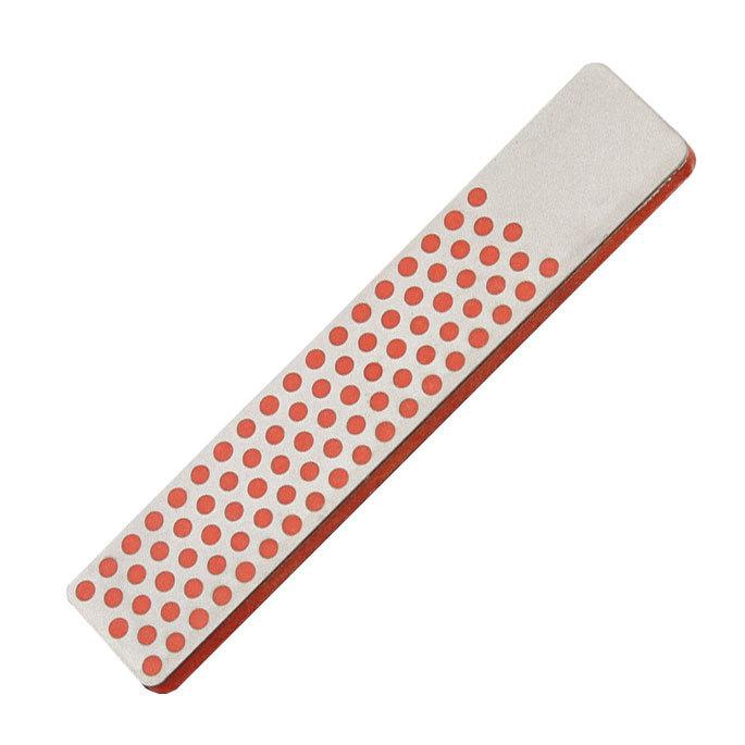 Фото 5 - Алмазный брусок DMT, 2 зоны заточки, 600 меш, 25 мкм, в кожаном чехле от DMT® Diamond Machining Technology