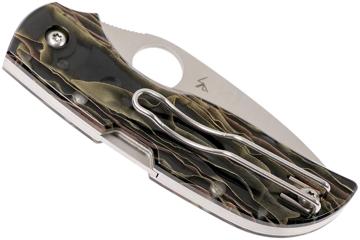 Фото 11 - Складной нож CHAPARRAL RAFFIR NOBLE - Spyderco C152RNP, сталь CTS-XHP Satin Plain, рукоять Raffir™ NOBLE