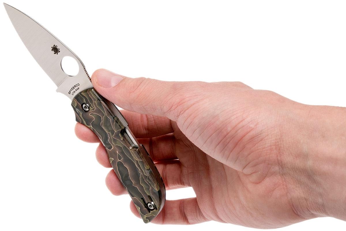 Фото 6 - Складной нож CHAPARRAL RAFFIR NOBLE - Spyderco C152RNP, сталь CTS-XHP Satin Plain, рукоять Raffir™ NOBLE