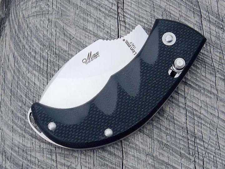 Фото 8 - Нож складной LionSteel Skinner 8901 G10, сталь 440C Satin Finish, рукоять стеклотекстолит, чёрный от Lion Steel