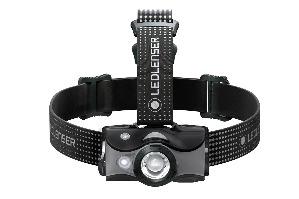 Фонарь светодиодный налобный LED Lenser MH7, черный, 600 лм, аккумулятор фонарь светодиодный налобный led lenser neo6r синий 240 лм аккумулятор